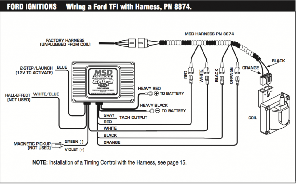 Rx 8656  Ford Tfi Module Wireing Download Diagram