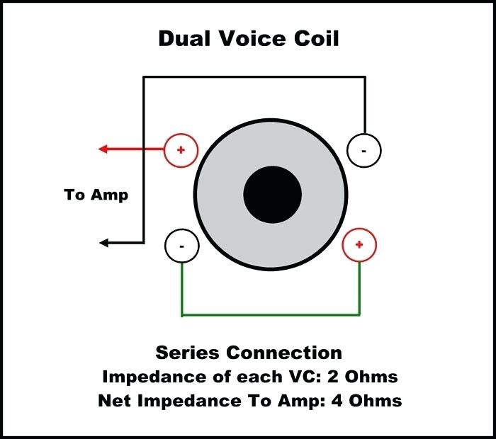 Nt 7351 How To Wire Single Voice Coil 4 Ohm Sub Kicker 2 Ohm Subwoofer Wiring