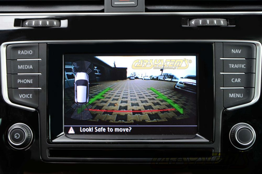 Fabulous New 2015 Vw Touran Low Line Rear View Camera With Guidance Lines Wiring Cloud Itislusmarecoveryedborg