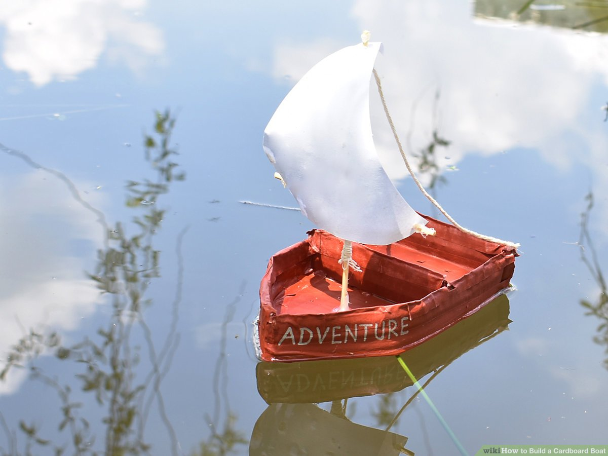 Remarkable How To Build A Cardboard Boat 13 Steps With Pictures Wikihow Wiring Cloud Dulfrecoveryedborg
