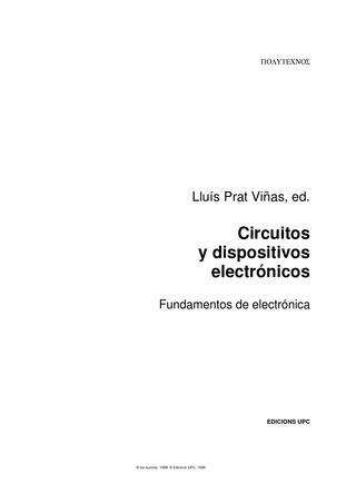 Fantastic Circuitos Y Dispositivos Electronicos Wiring Cloud Overrenstrafr09Org