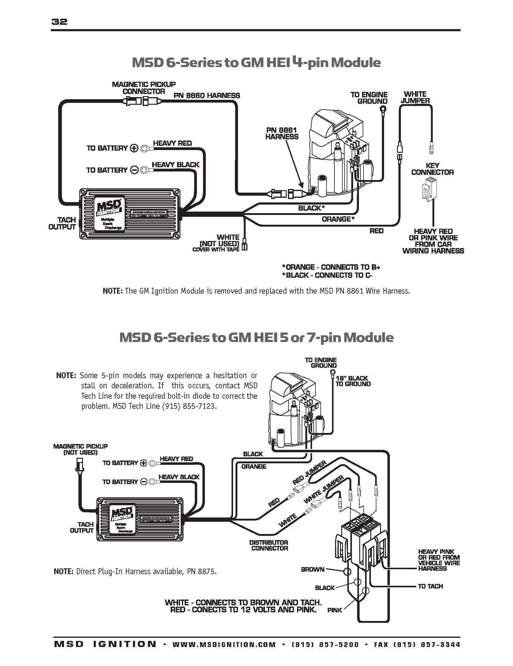 Mallory Unilite Ignition Box Wiring Diagram