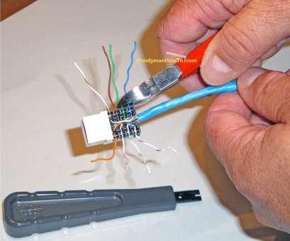 dk4382 cat 6 wall jack wiring diagram schematic wiring