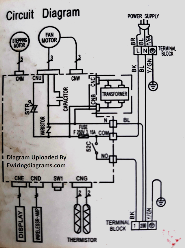 Wiring Diagram Outside Ac Unit