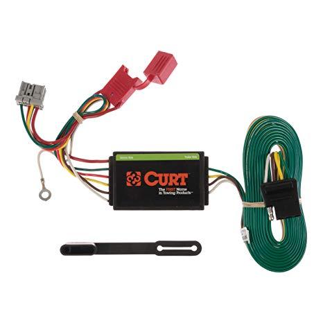 Fine Amazon Com Curt 56161 Vehicle Side Custom 4 Pin Trailer Wiring Wiring Cloud Vieworaidewilluminateatxorg