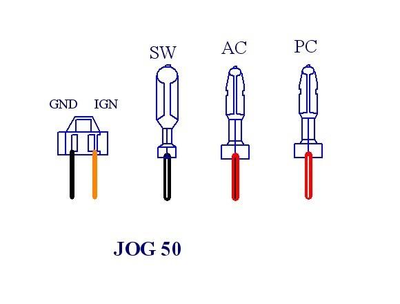 GOOFIT 5 Wire CDI for 2 Stroke 50ccYamaha Jog Minarelli 50 Polaris 50 Moped /& Scooter