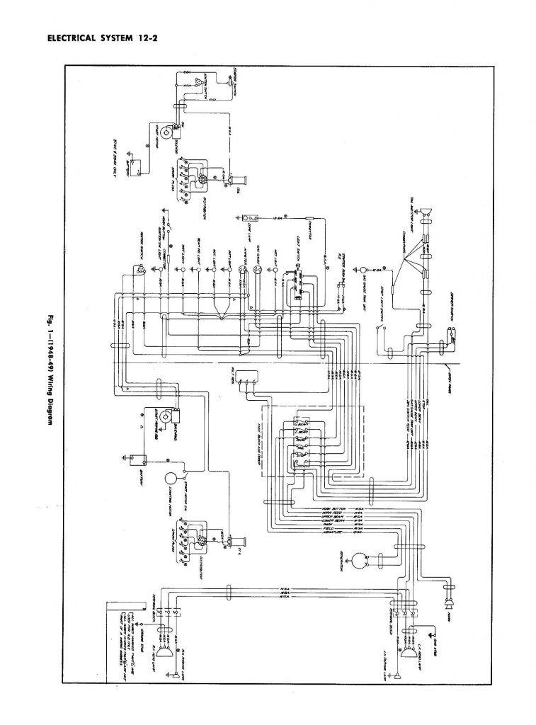 Ab 1428  1955 Chevrolet Steering Column Wiring Diagram