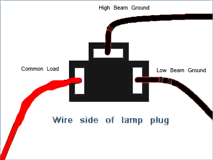 3 Wire Headlight Wiring Diagram Wiring Diagrams
