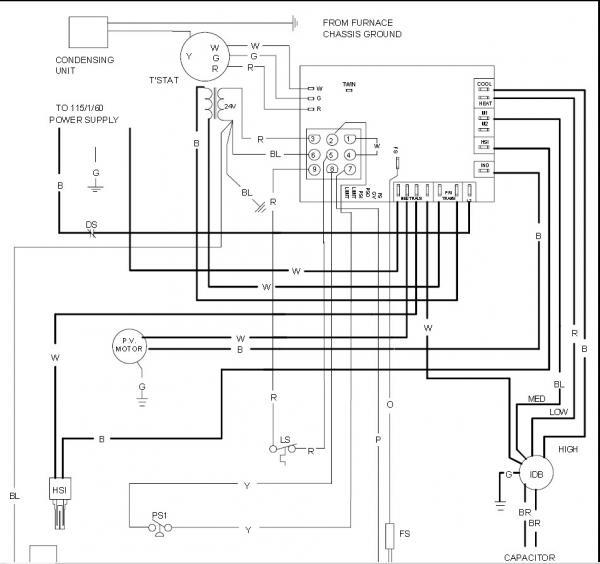 Ca 9689 Goodman Furnace Wiring Diagram For Thermostat Wiring Diagram