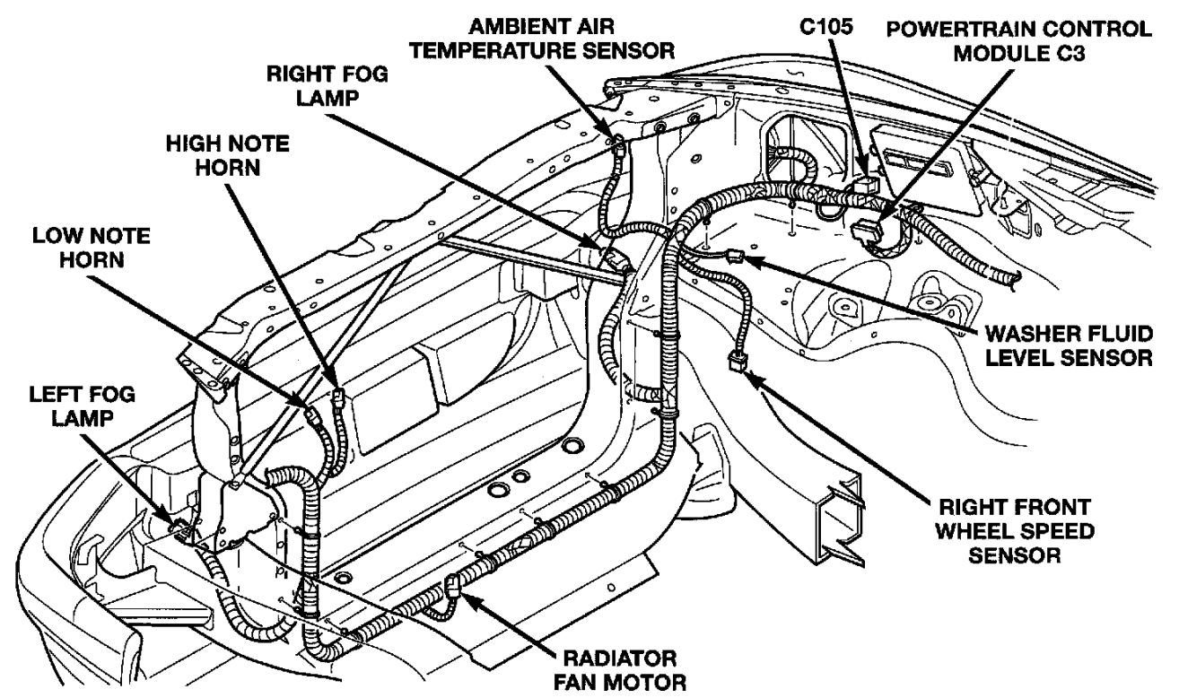 1999 dodge dakota pcm wiring diagram