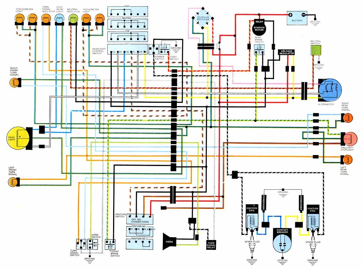 1971 Honda 750 Four K 1 Wiring Diagram Jeep Yj Fuel Gauge Wiring Diagram Vw T5 Yenpancane Jeanjaures37 Fr