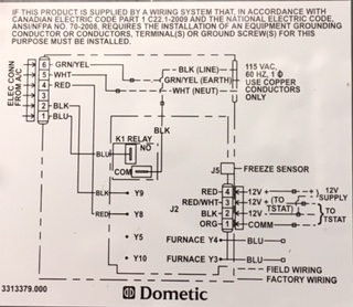 Wc 6190 Keystone Rv Thermostat Wiring Diagrams Free Diagram