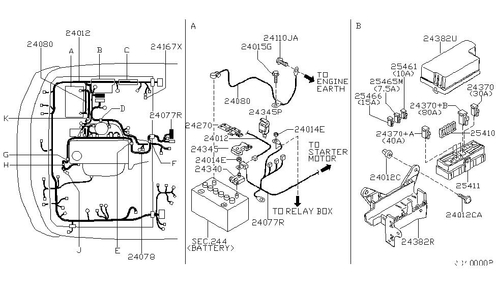 Groovy 01281 00231 Genuine Nissan Parts Wiring Cloud Filiciilluminateatxorg