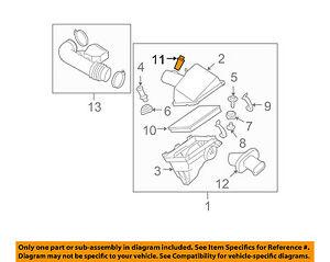 Awe Inspiring Nissan Oem Mass Air Flow Sensor 226807S00A Ebay Wiring Cloud Staixaidewilluminateatxorg