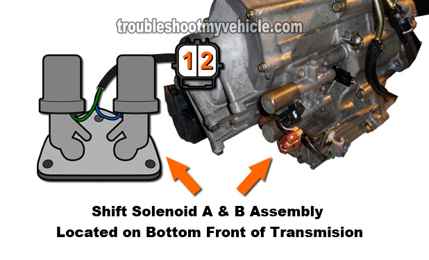 2001 Honda Civic Transmission Solenoid Replacement