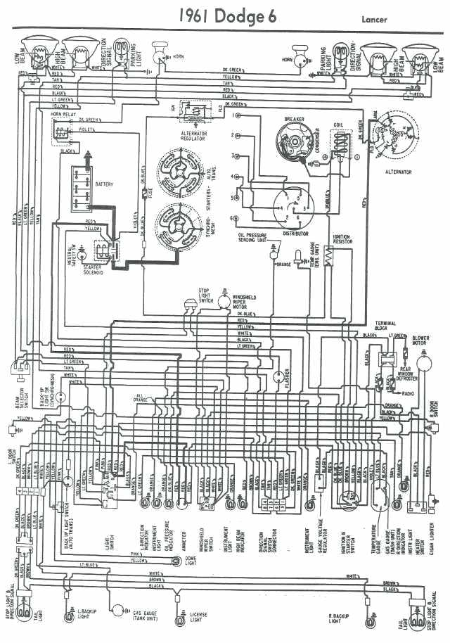 1974 Dodge Dart Wiring Diagram Images