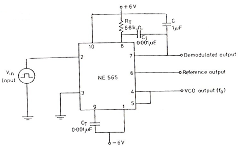 NZ_7454] Phase Lock Loop Pll Fm Detector With 565 Pll Ic The Circuit  Diagram Schematic WiringAtrix Wigeg Mohammedshrine Librar Wiring 101