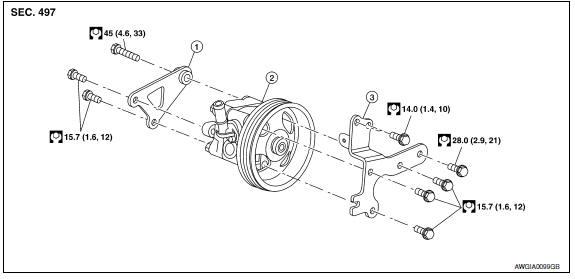 My 7153  Repair Guides Power Steering Pump Removal