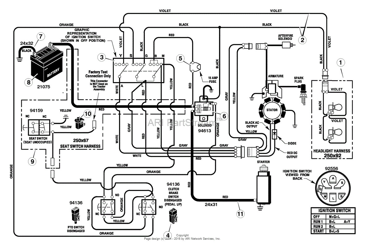 Troy Bilt Rzt 50 Wiring Diagram