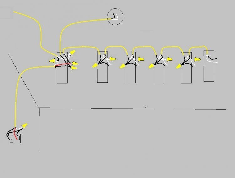 Pleasant Wiring 3 Lights To One Switch Diagram Basic Electronics Wiring Diagram Wiring Cloud Cranvenetmohammedshrineorg