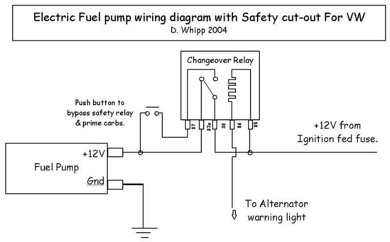 fuel pump relay wiring diagram 1990 mazda miata electrical