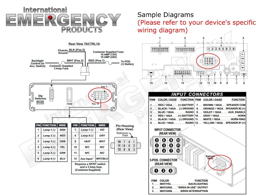 Galls Six Function Switch Box Wiring Diagram
