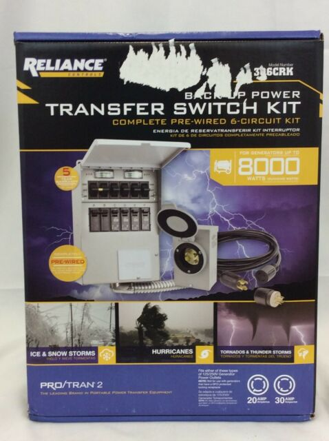 Brilliant Reliance Controls 306Crk Pro Tran 2 Manual Transfer Switch Kit For Wiring Cloud Apomsimijknierdonabenoleattemohammedshrineorg