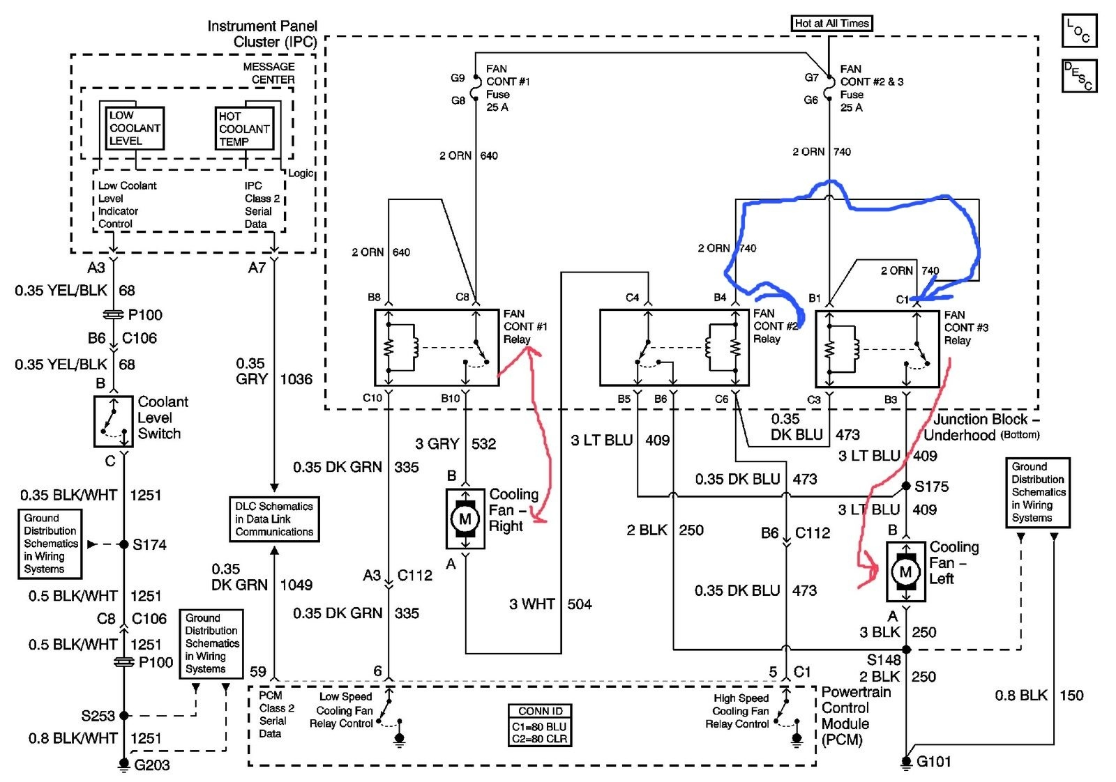 Fine Chevrolet Impala Questions Location Of Cooling Fan Relay Cargurus Wiring Cloud Overrenstrafr09Org