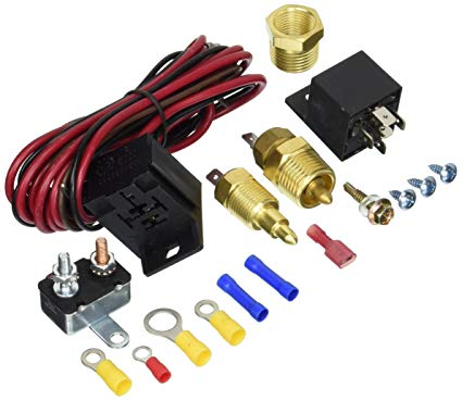 Excellent Amazon Com Fan Thermostat Temperature Switch Engine Cooling Sensor Wiring Cloud Hisonepsysticxongrecoveryedborg
