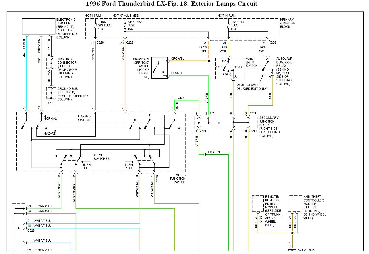 Kf 0167  Fuel Relay Wiring Diagram 1996 Thunderbird