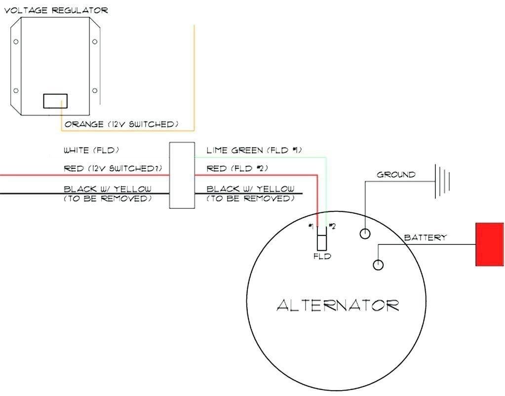 Delco Remy 22si Alternator Wiring Diagram