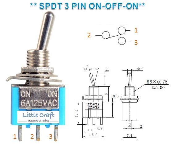 Fl 9182 3 Wire Spdt Toggle Switch Wiring Diagram Wiring Diagram