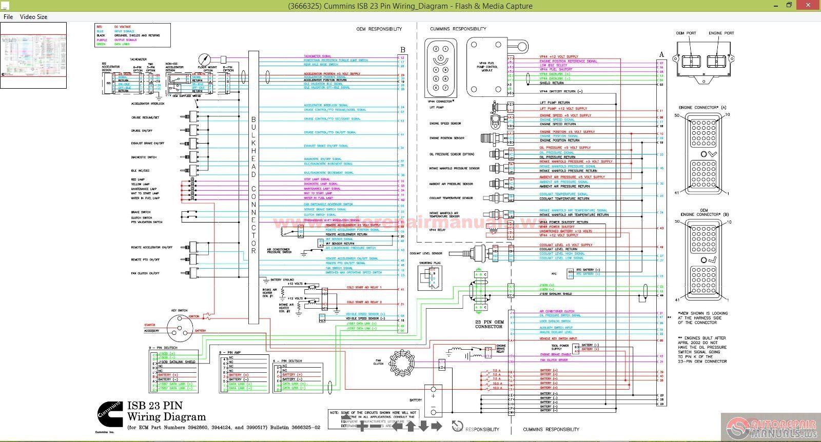 Isx Cm871 Control Module Wiring Diagram