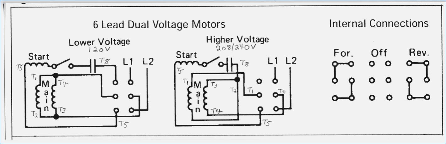 240v Motor Wiring Diagram Single Phase