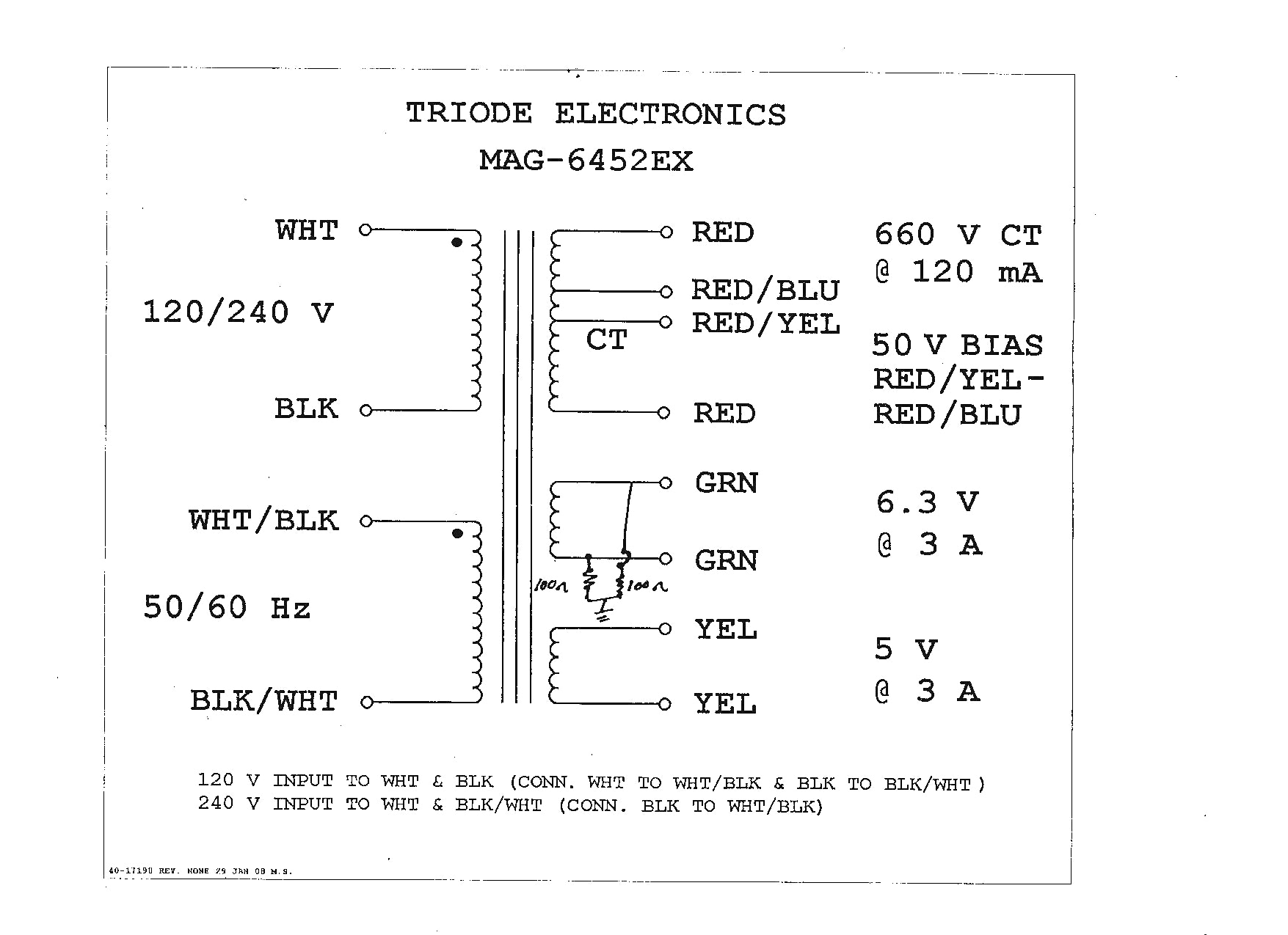 Acme Transformer Wiring Diagrams