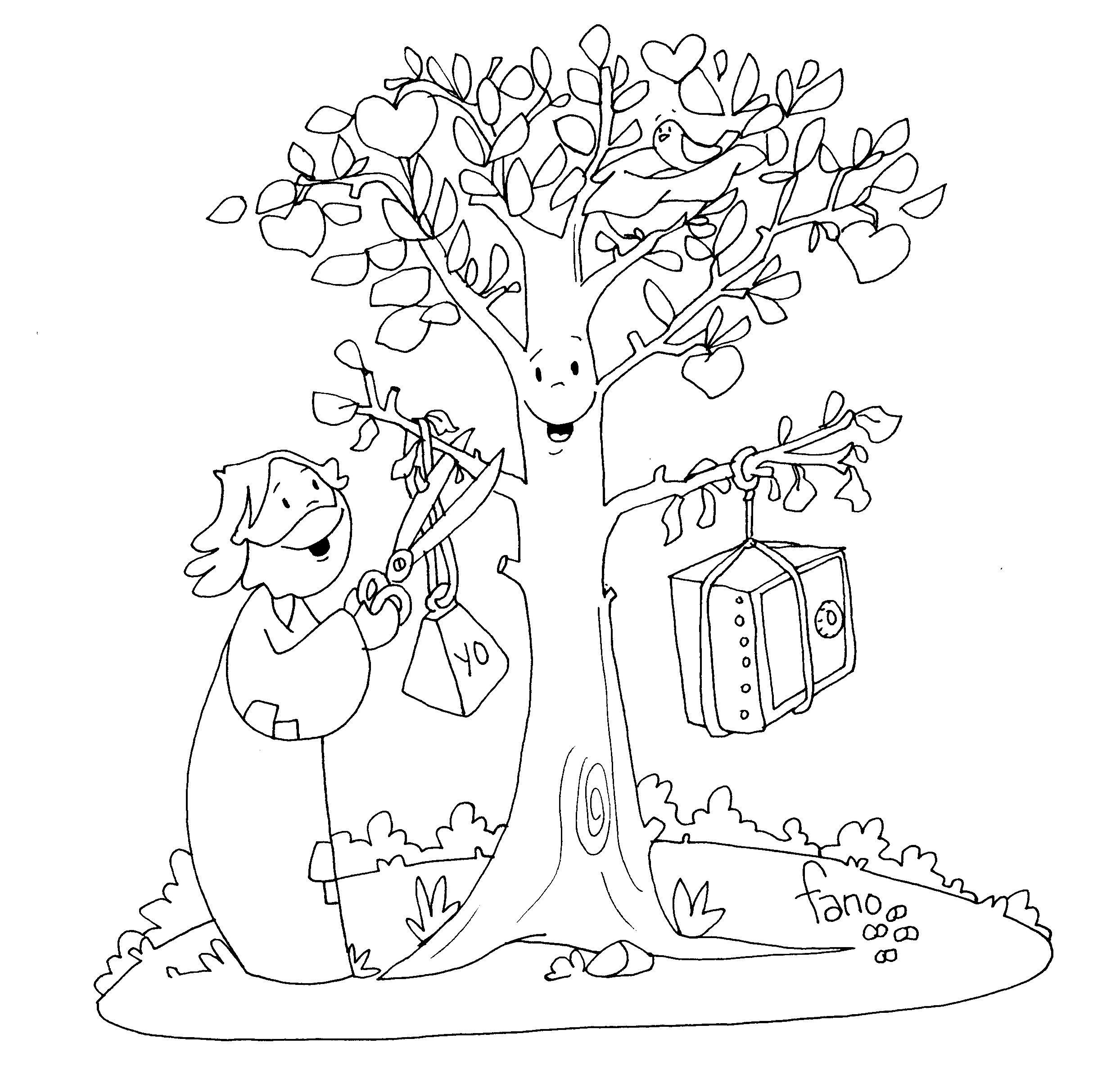 Zacchaeus coloring page | Sunday school coloring pages, Jesus ... | 2417x2488