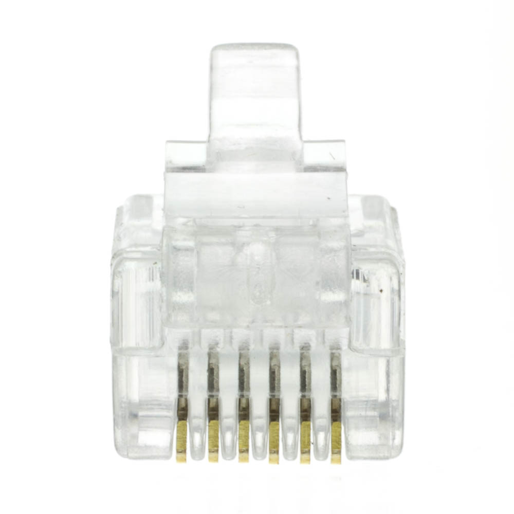 Fine Rj12 6P4C Modular Plug For Flat Wire Bag Of 50 Wiring Cloud Monangrecoveryedborg