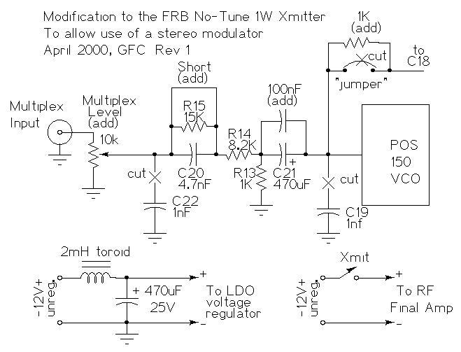 Enjoyable High Fidelity Fm Stereo Modulator Rev E2 Wiring Cloud Grayisramohammedshrineorg