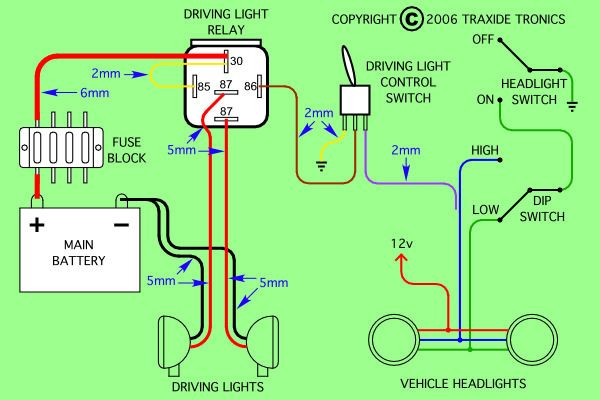 Sensational 5 Pin Power Relay Diagram Wiring Schematic Basic Electronics Wiring Cloud Overrenstrafr09Org