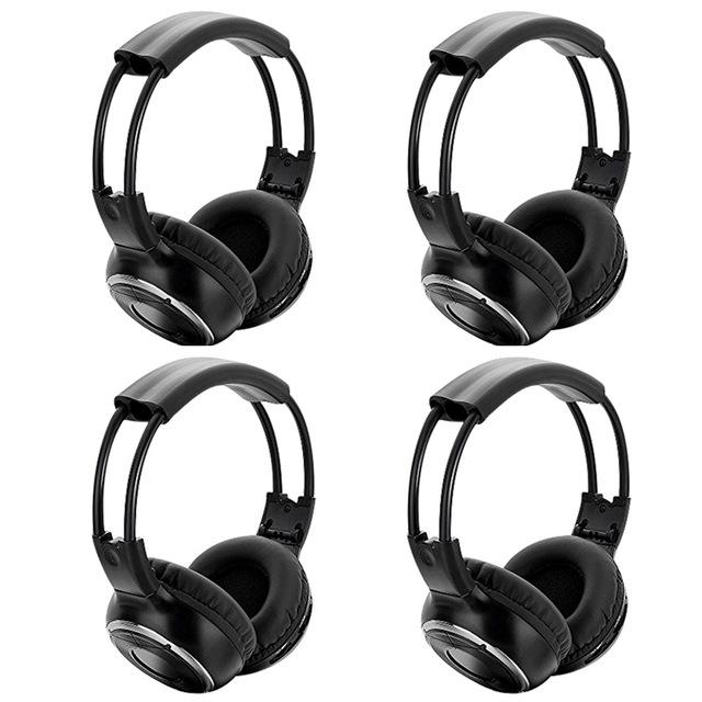 Tremendous 4Pcs High Quality Infrared Stereo Wireless Headphones Headset Ir In Wiring Cloud Biosomenaidewilluminateatxorg
