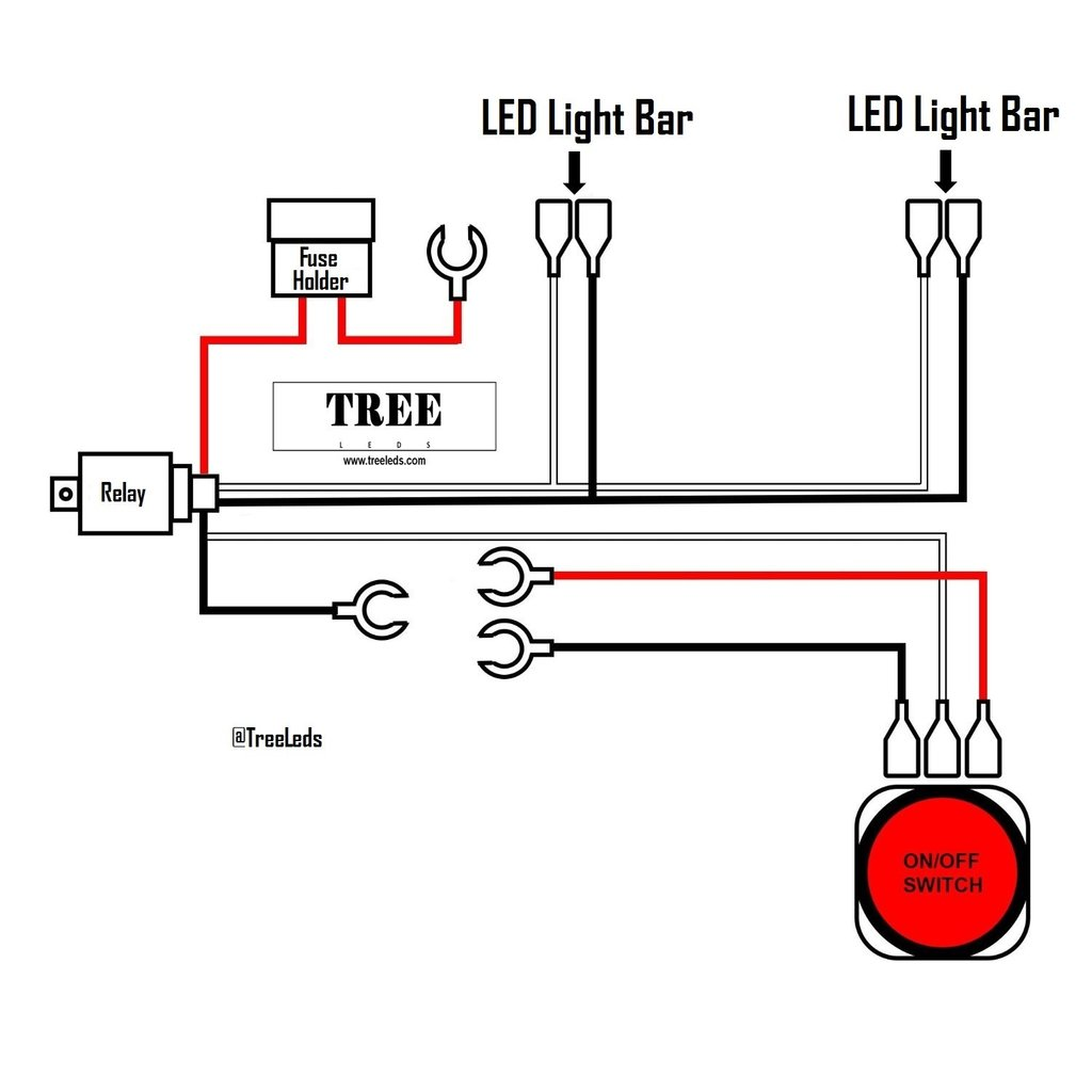 Kv 3290 Led Light Bar Wiring As Well As Dual Switch Led Light Bar Wiring Download Diagram
