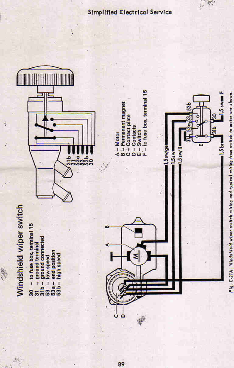 1974 Vw Wiper Motor Wiring Diagram Wiring Diagram Search A Search A Lechicchedimammavale It