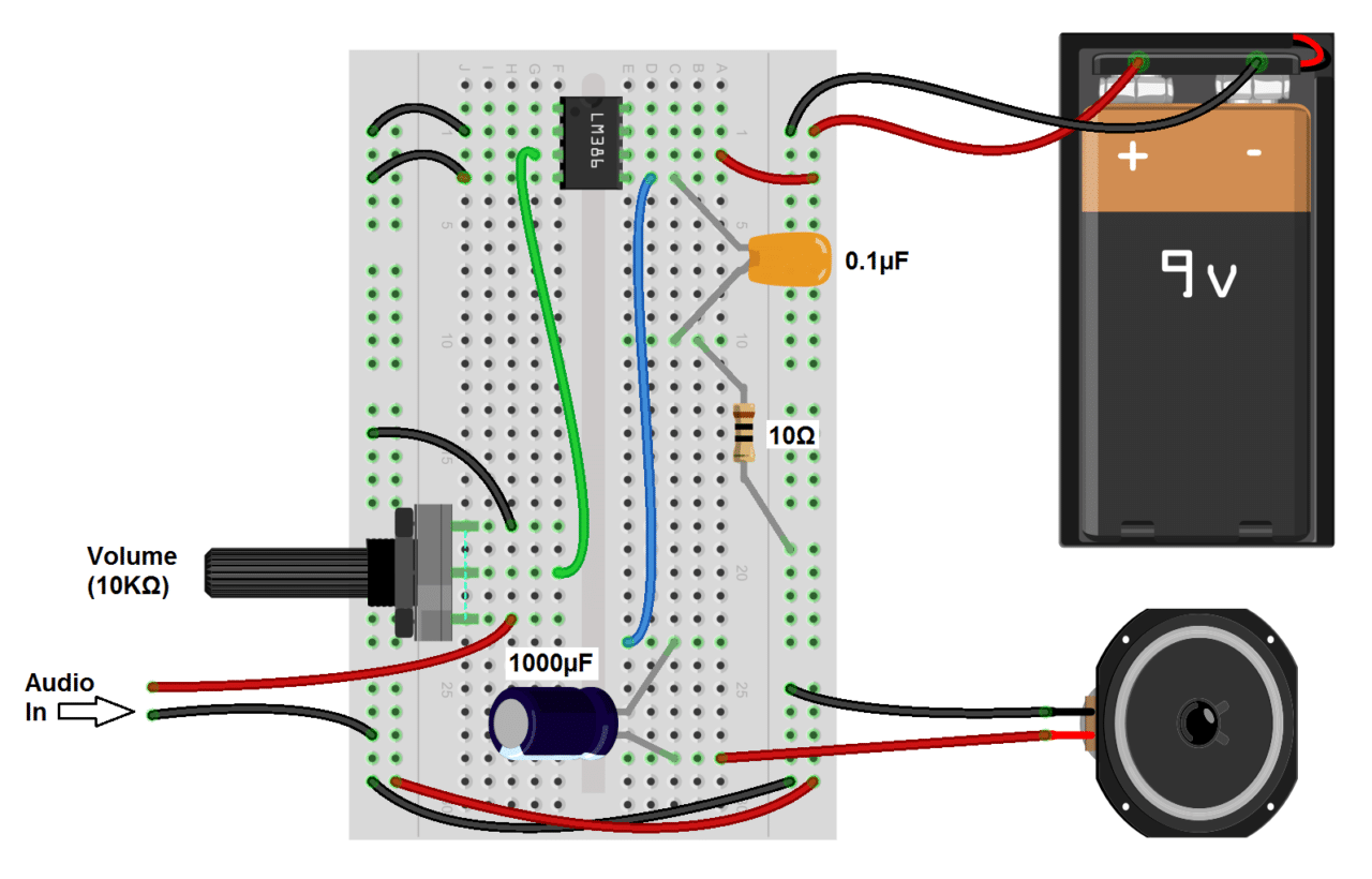 Excellent Build A Great Sounding Audio Amplifier With Bass Boost From The Lm386 Wiring Cloud Itislusmarecoveryedborg