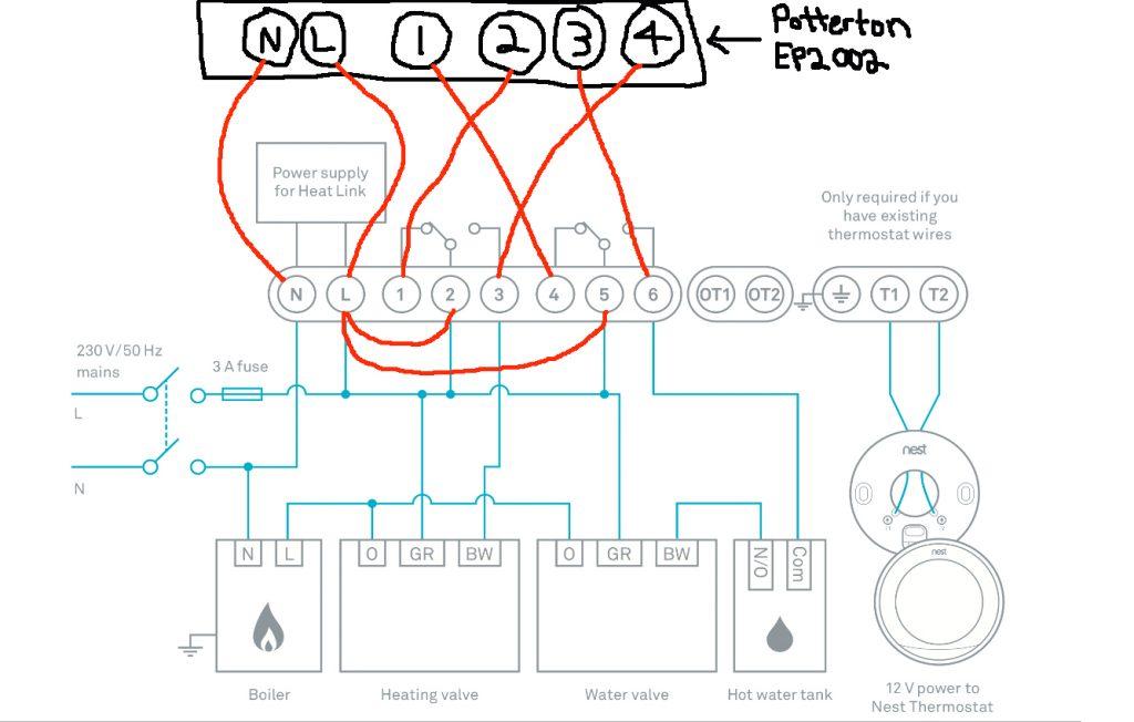 Lc 8198 Nest Thermostat Wiring Diagram Nest Thermostat Heat Pump Wiring Nest Free Diagram