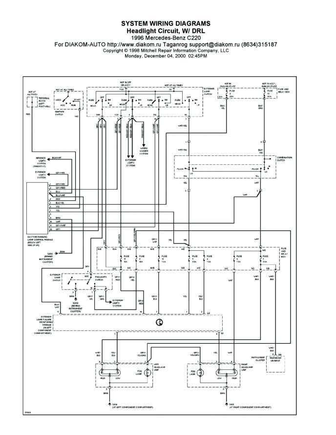 VH_9485] Mercedes Benz Wiring SchematicsWedab Anal Inki Mohammedshrine Librar Wiring 101