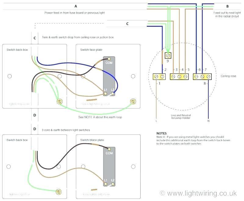 gl7304 one switch two lights wiring diagram wiring diagram