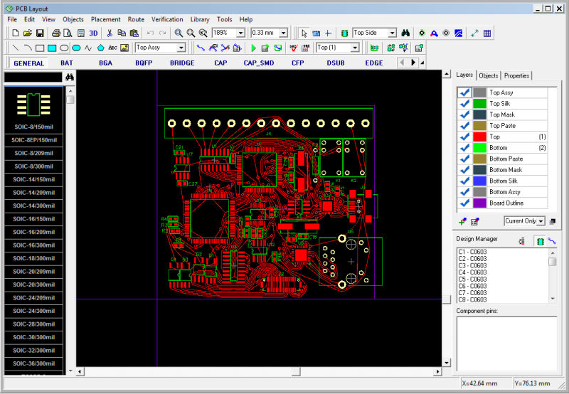Ns 5942 Jumbocad Pcb Design Er Is A Pcb Layout Software It Is Easy To Use Schematic Wiring