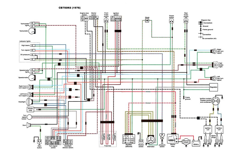 Cs 8456  Cb750 Wiring Diagram Chopper Schematic Wiring
