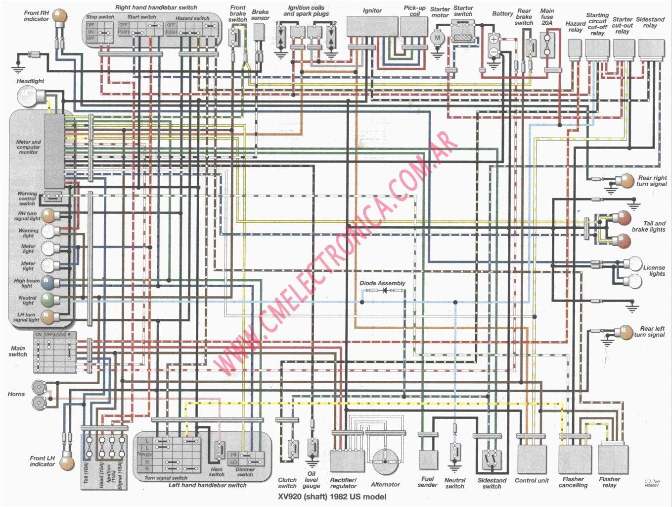 DE_1572] 1996 Virago 1100 Wiring Diagram Download DiagramAlypt Tivexi Mohammedshrine Librar Wiring 101