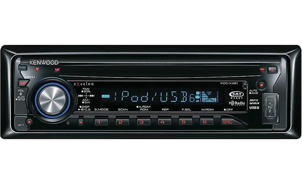 Cool Kenwood Excelon Kdc X491 Cd Receiver With Mp3 Wma Aac Playback Wiring Cloud Onicaalyptbenolwigegmohammedshrineorg
